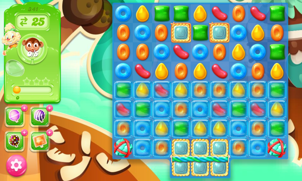 Candy Crush Jelly Saga 341