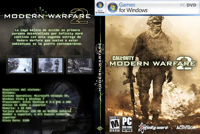 تحميل لعبه الاكشن Call Of Duty Modern Warfare 2 بحجم 37 من