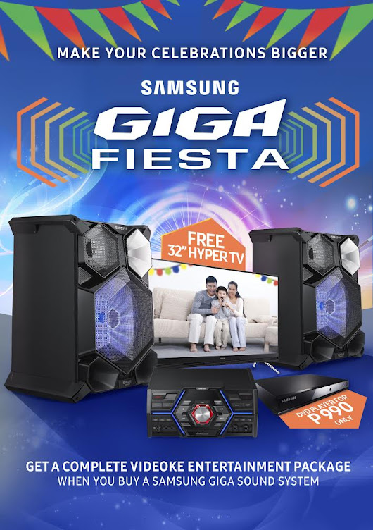 Make Your Higalaay Festival Celebrations Bigger with the Samsung GIGA Fiesta Promo - inCDO