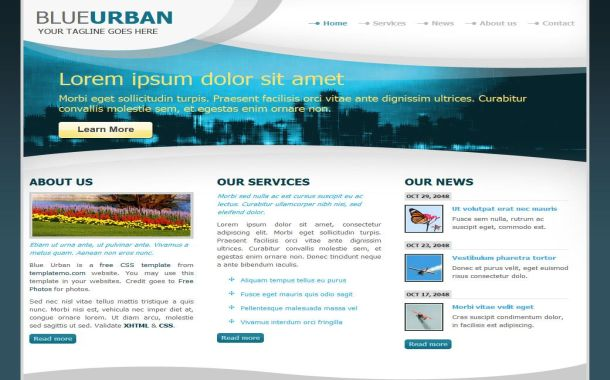 Free Website Templates Themes And Cms Templates Free