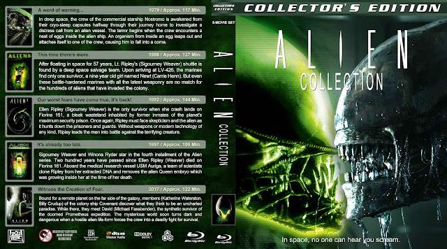 Alien Collection Bluray Cover