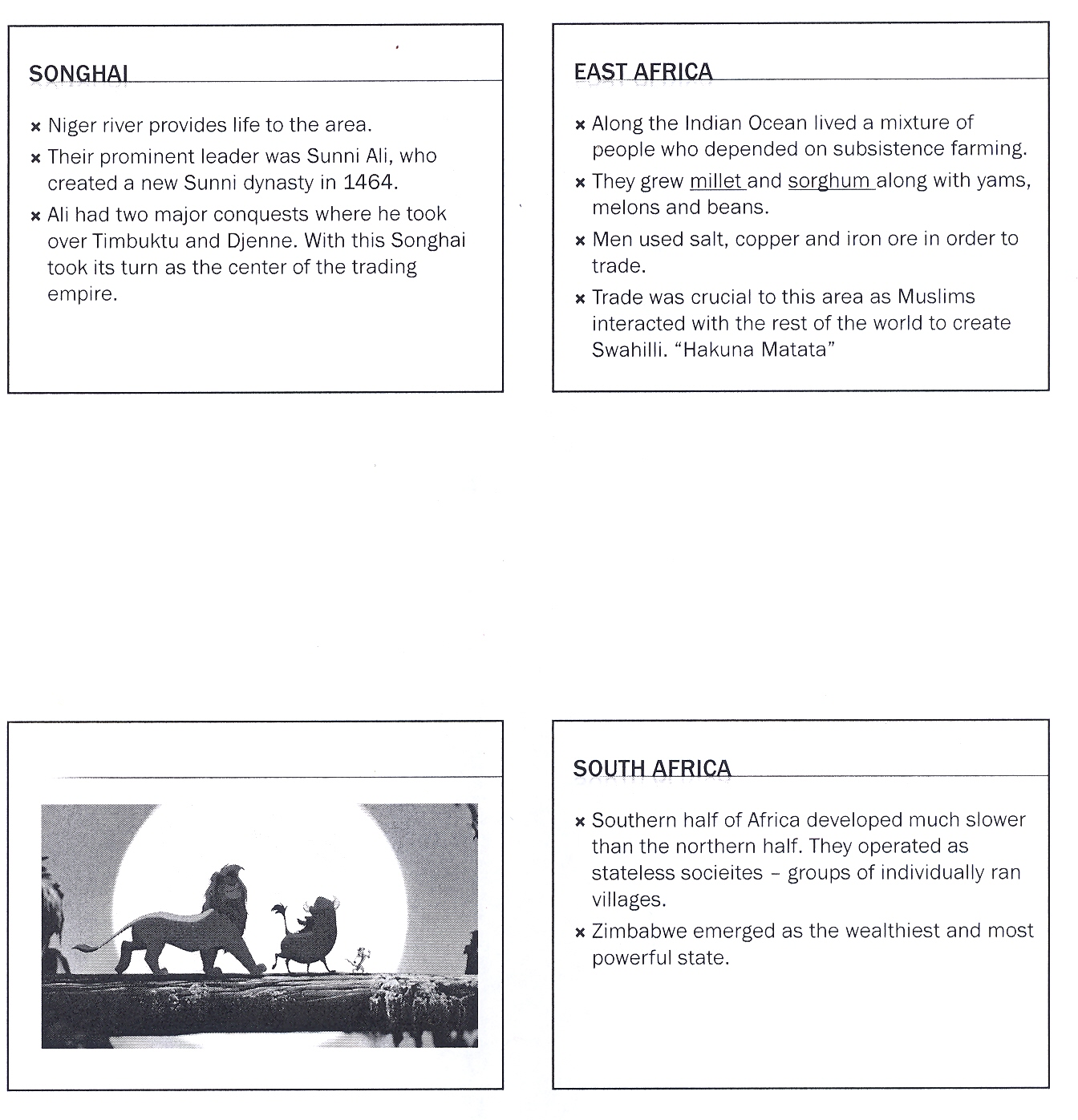 Mr E S World History Page Chapter 13