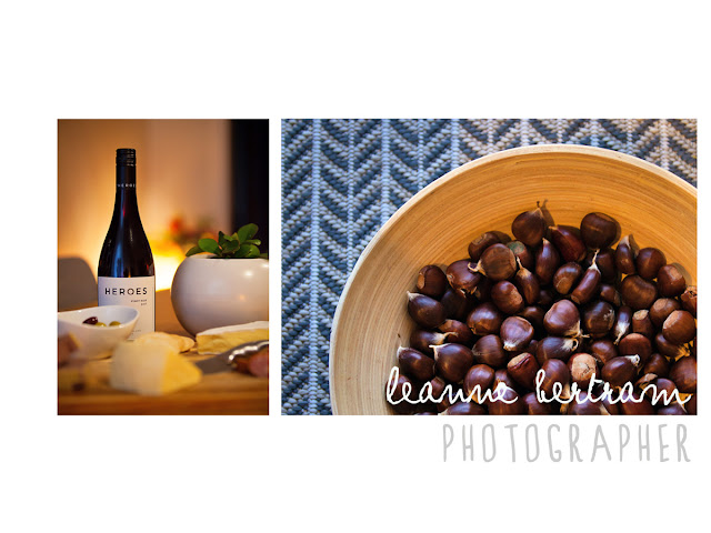 wine, chestnuts, cheese, olives, scandinavian style, australian winter