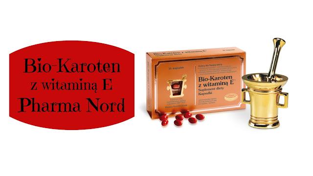 RECENZJA: Bio-karoten z witaminą E | Pharma Nord