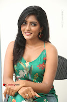 Actress Eesha Latest Pos in Green Floral Jumpsuit at Darshakudu Movie Teaser Launch .COM 0205.JPG