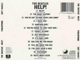 help ! - the beatles cover album