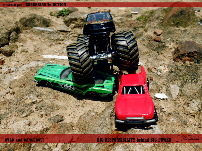 "Descriptive Text tentang Diecast ""Hotwheel - Monster Jam"""