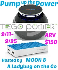 Enter to win a Tego Cera Portable Speaker and Power Grid. Ends 9/25