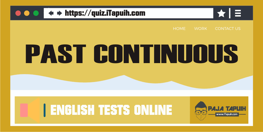 Quiz: Past Continuous Part 1