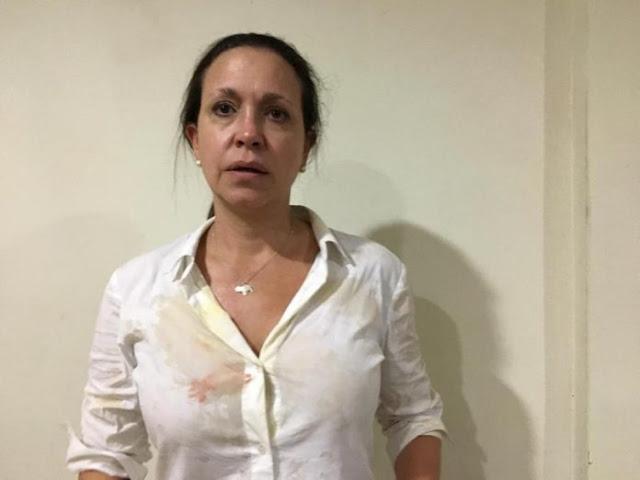 Consternación en el mundo por arremetida contra Maria Corina Machado