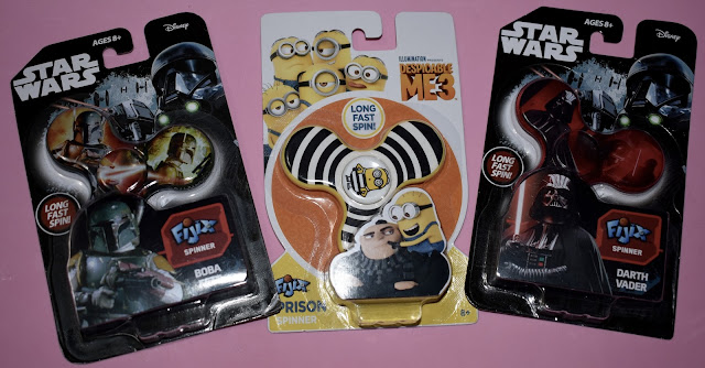 Fidget Spinners Star Wars, Despicable Me