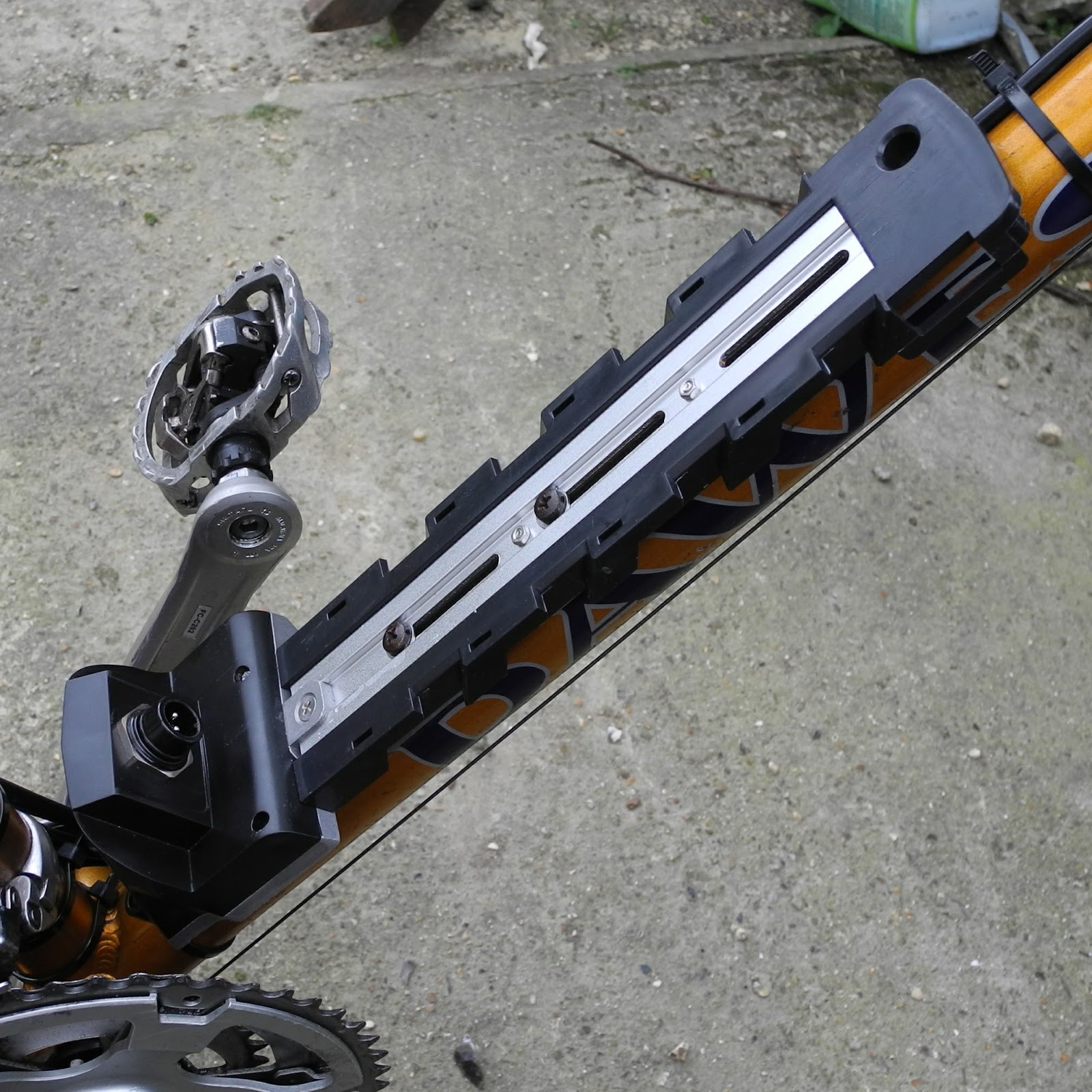 Terry\'s Gibson\'s Blog: Converting my Dawes Sonoran to an E-Bike Part ...