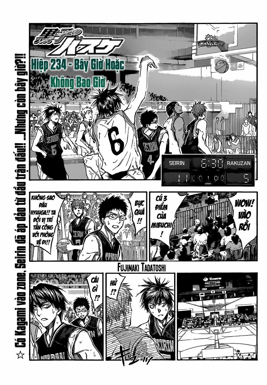 Kuroko No Basket chap 234 trang 1