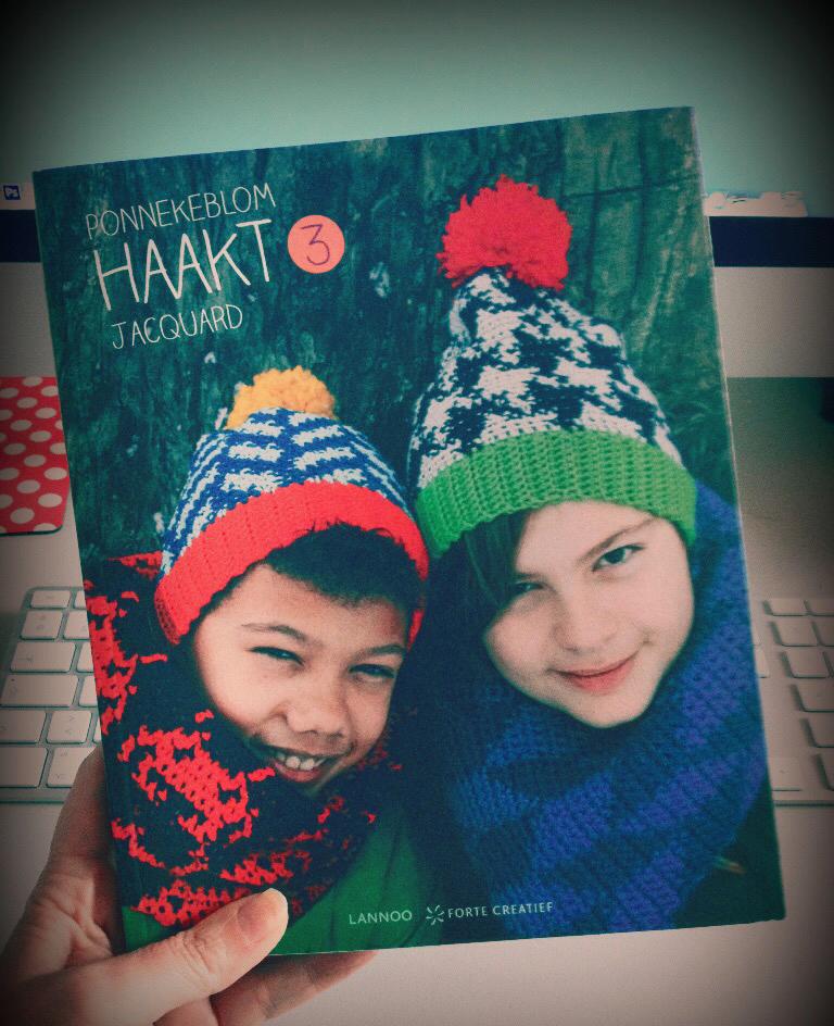 Ponnekeblom Derde Boek Ponnekeblom Haakt Nr 3 Jacquard Haken