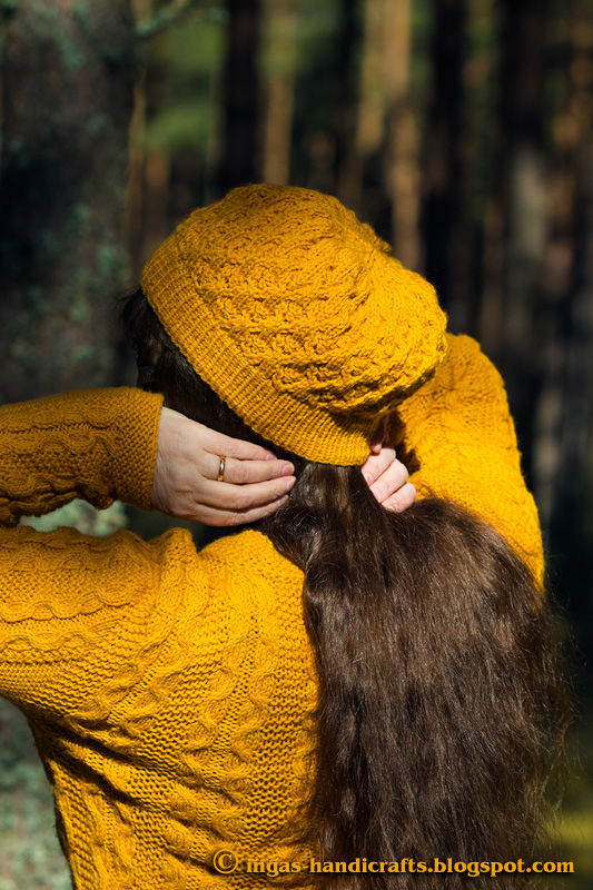 Kollane müts / Yellow Beanie