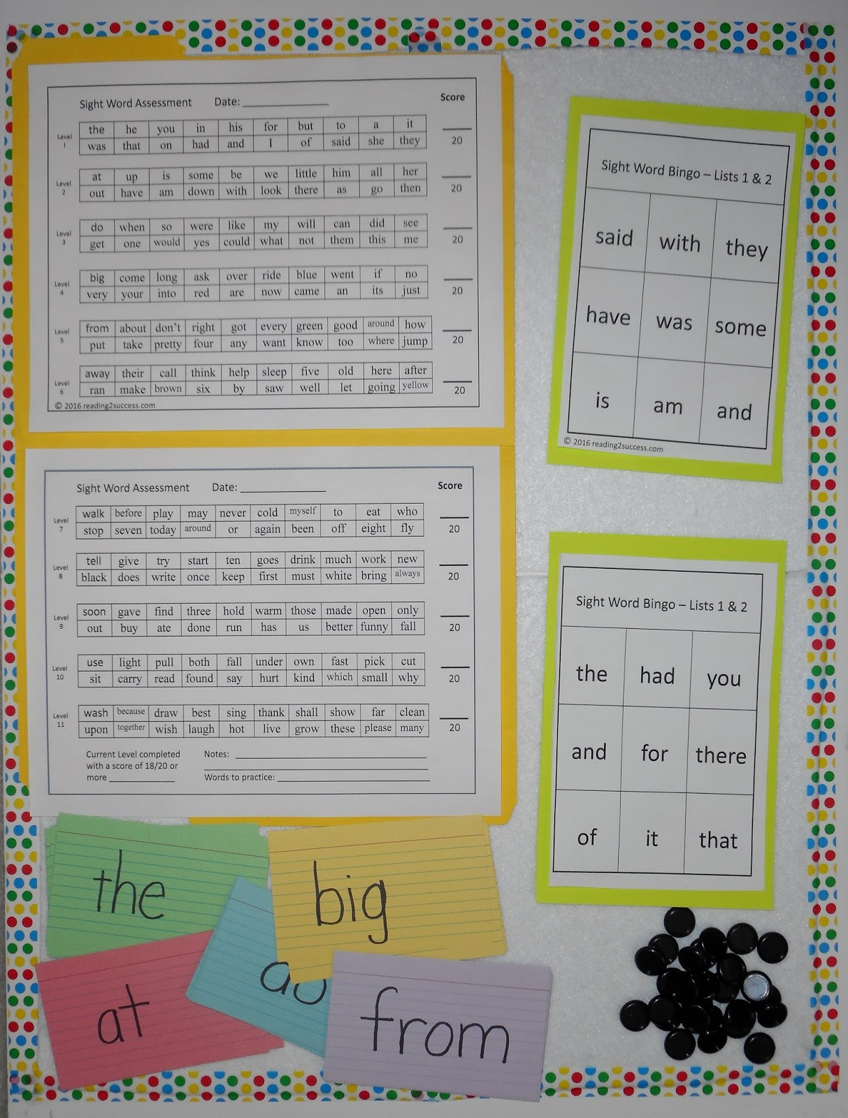 Reading2success Onset And Rime Activities Kinder