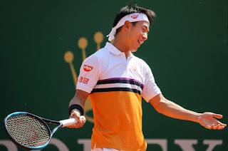 Nishikori knocked out in Monte Carlo