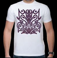 Testowy wzór nadruku na koszulkę
