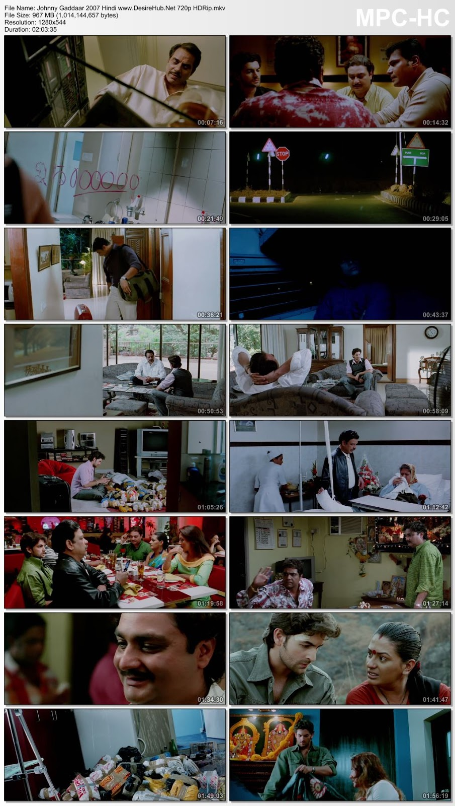 Johnny Gaddaar 2007 Hindi 480p HDRip 350MB Desirehub