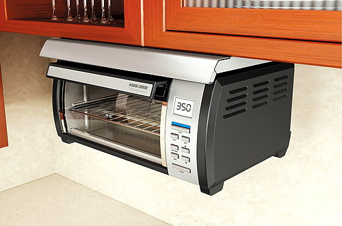 Adding Under Cabinet Toaster Ovens In Your Kitchen Space Saving Solutions  Home Design Gallery