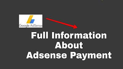 Adsense Payment Method Full Information
