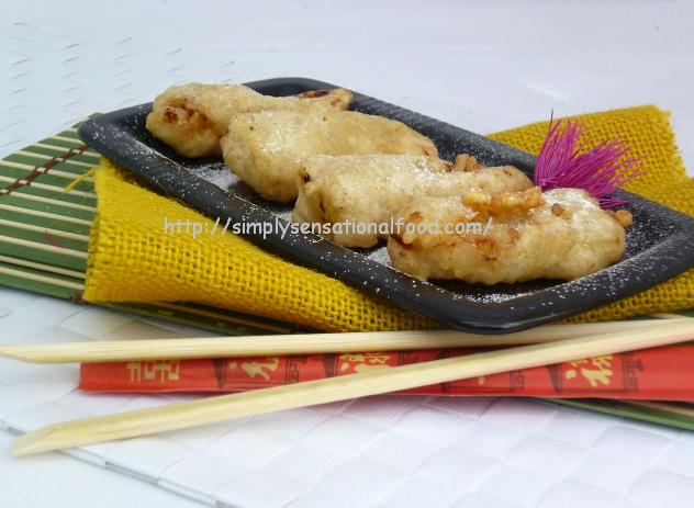 Pisang goreny Banana fritters