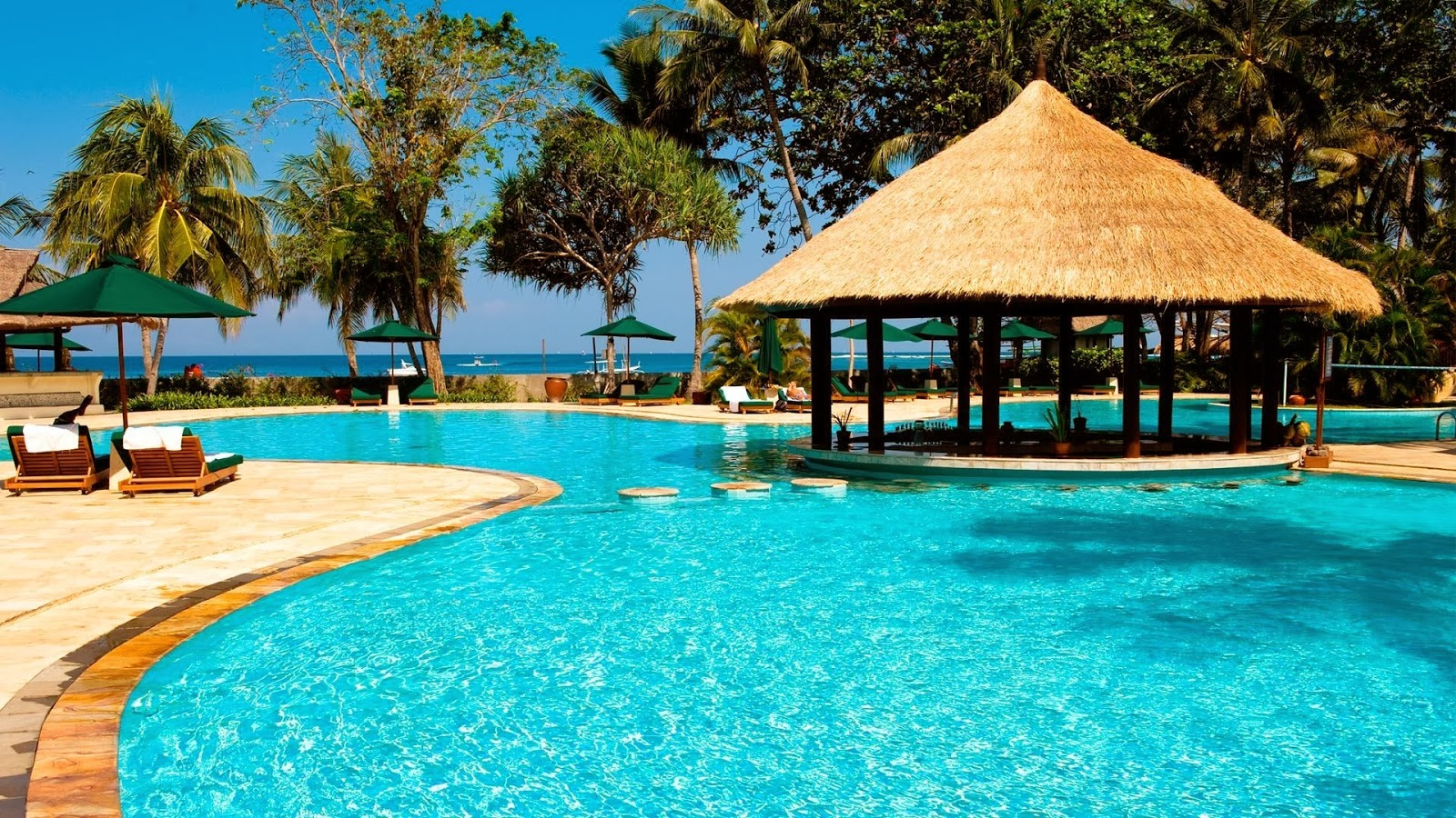 SeaShore And Beach Resorts Wallpapers