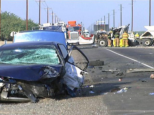 Fresno Visalia Bakersfield Accidents: Fatal Big Rig Crash on