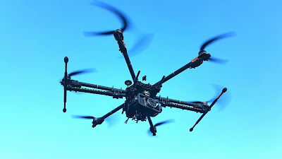 Heavy Lifter Aerial Photography Drone milik Helicamindo