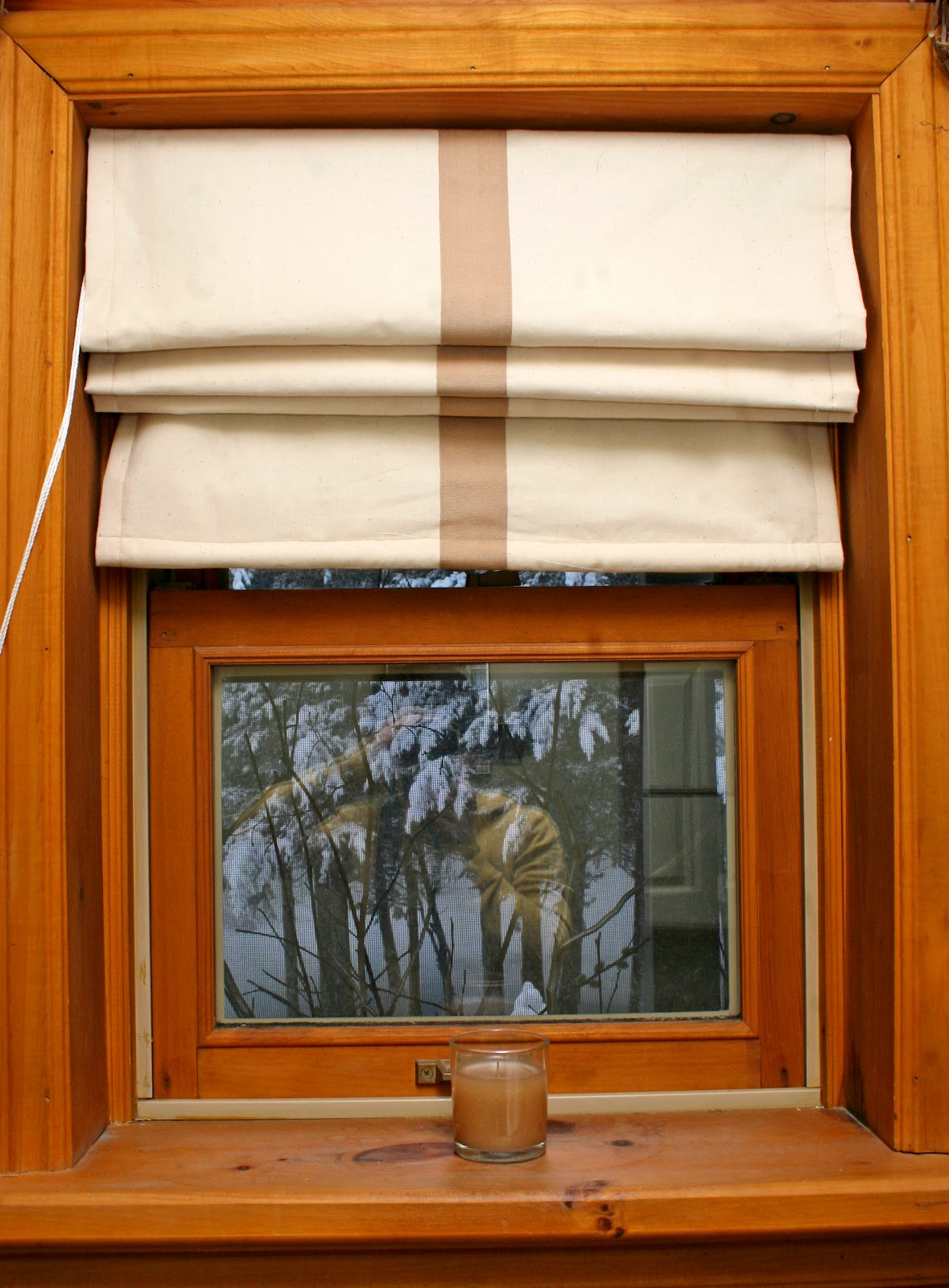 Log Cabin Sewing Studio Window Coverings