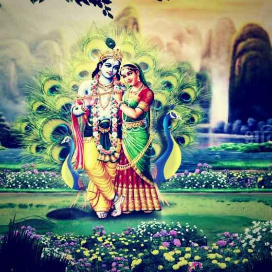 Radhe Krishna Image Love And Lord Radha Krishna Happy New Year 2019