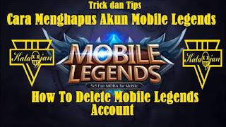 Permainan mobile legends sedang populer saat ini Cara Menghapus Akun Mobile Legends