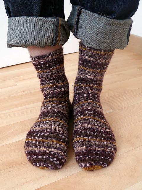 chaussettes en côtes