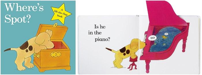 los mejores cuentos y libros infantiles en inglés Where's Spot?