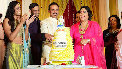 actress-radha-25th-wedding-anniversary-1