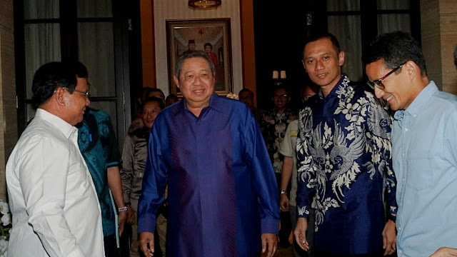 Menangkan Prabowo - Sandi, SBY Siap Turun Gunung Jadi Juru Kampanye