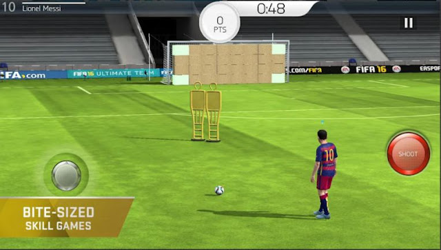Game Bola Offline Android FIFA 16: Ultimate Team APK