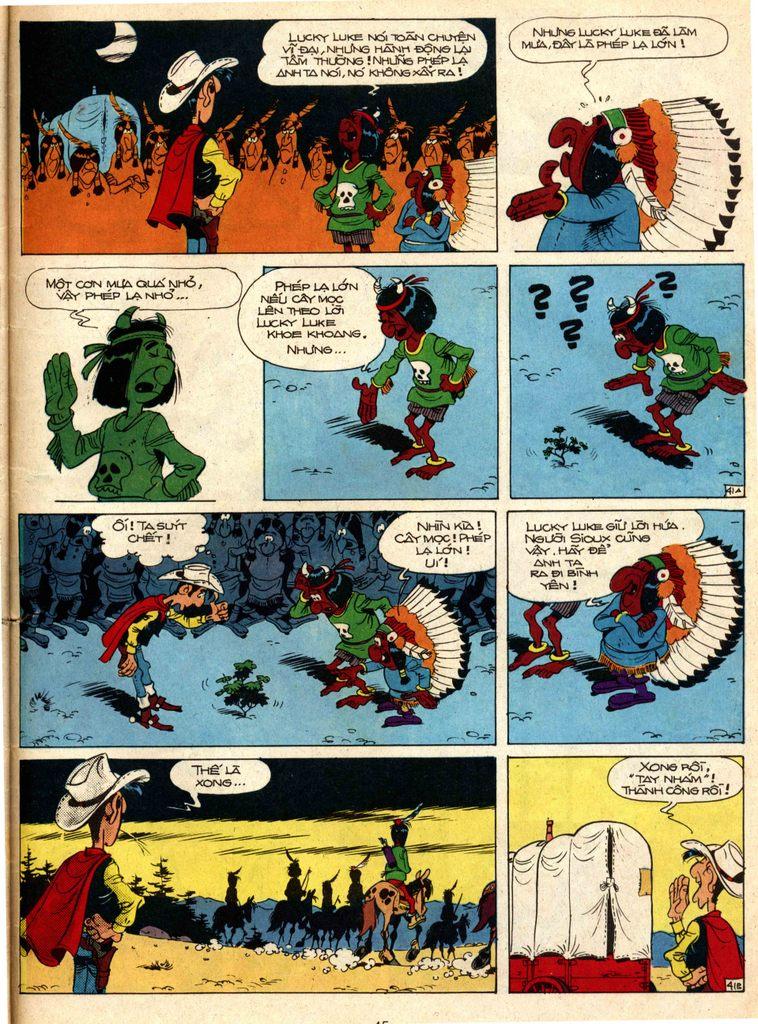 Lucky Luke tap 1 - ban tay nham trang 40