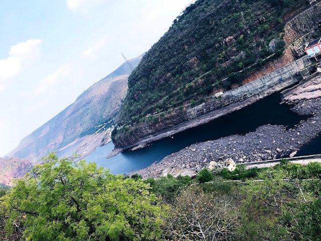 From Famous Srisailam Dam-one day trip to srisailam from hyderabad
