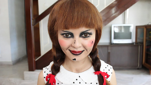The Conjuring: Annabelle Doll Makeup Tutorial