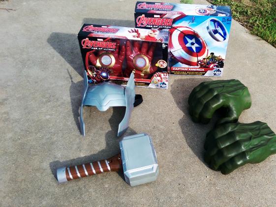 Muestra a tu super héroe con los juguetes de Marvel's Avengers: Age of Ultron Action Toys #MisVengadores #Ad