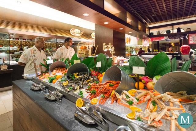 Spice Market Café at Shangri-La's Rasa Sayang Resort & Spa, Penang