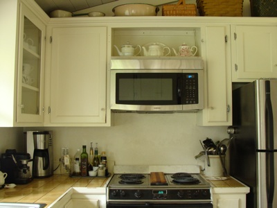 How To Retrofit A Cabinet For Microwave An Oregon Cottage