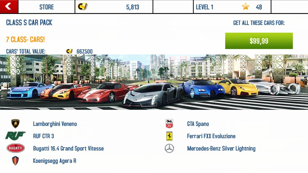 review asphalt 8 airborne di smartphone tizen tizen. Black Bedroom Furniture Sets. Home Design Ideas