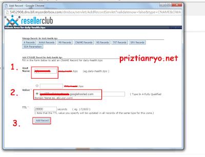 Cara Daftar Dan Mendapatkan Domain Gratis di ResellerClub