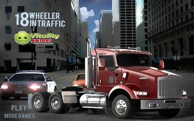 18 Wheeler In Traffic - Jeu de Simulation sur PC