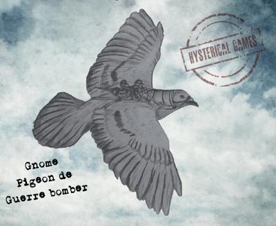 Gnome Pigeon de Guerre bomber