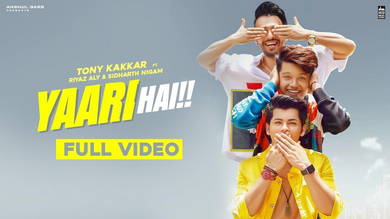 Yaari Hai Lyrics Lyrics, Tony Kakkar