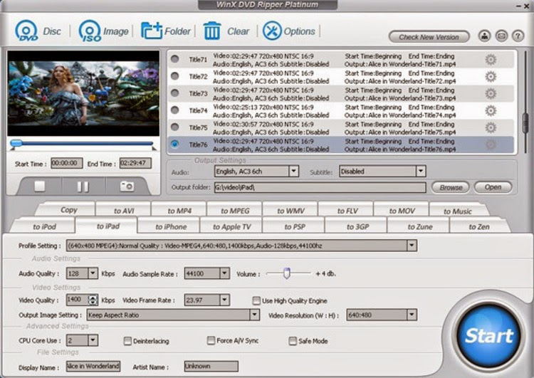 winx dvd ripper serial key