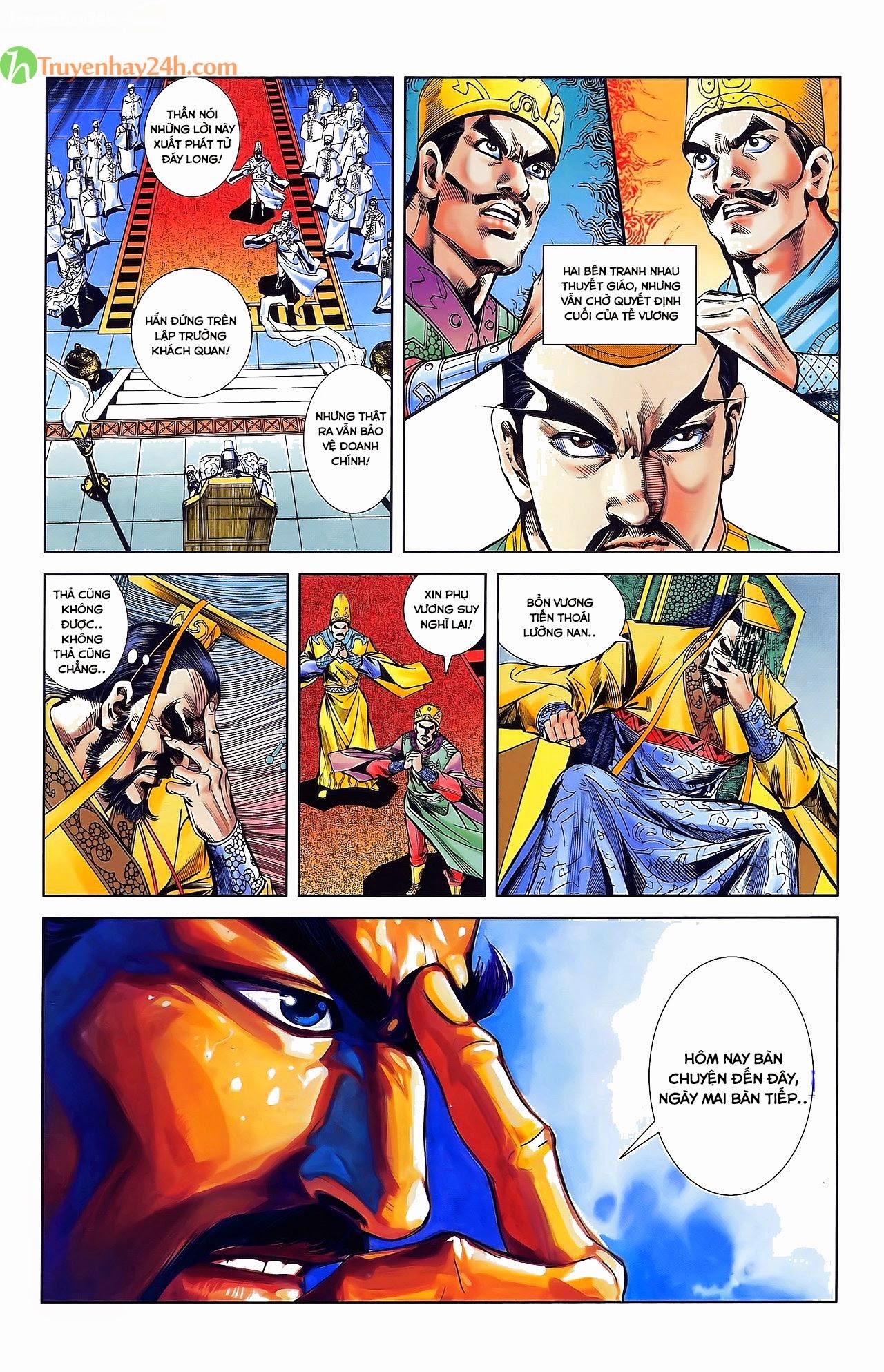 Tần Vương Doanh Chính chapter 31 trang 22